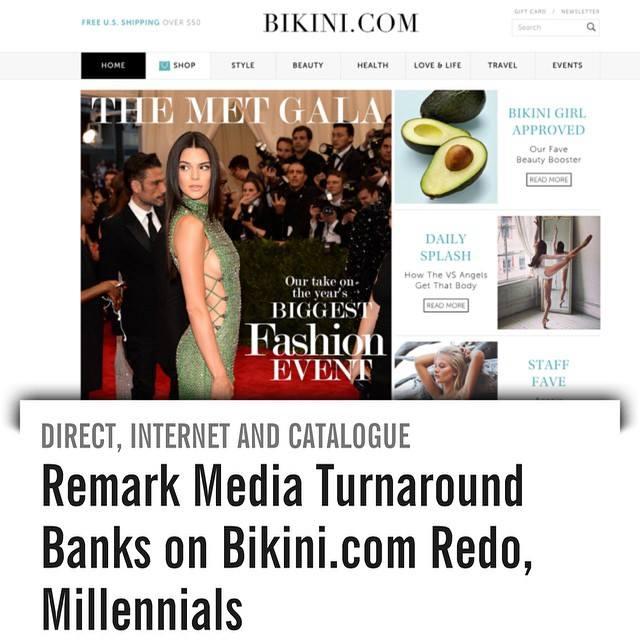 WWD features Bikini.com