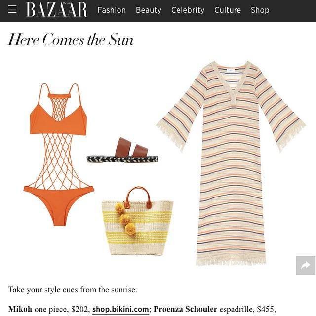 Harper's Bazaar includes Bikini.com in swimwear round up