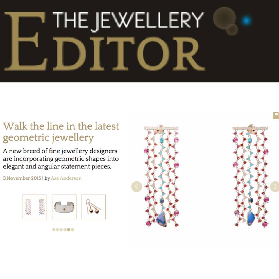Nouvel Heritage Earrings on the Jewellery Editor