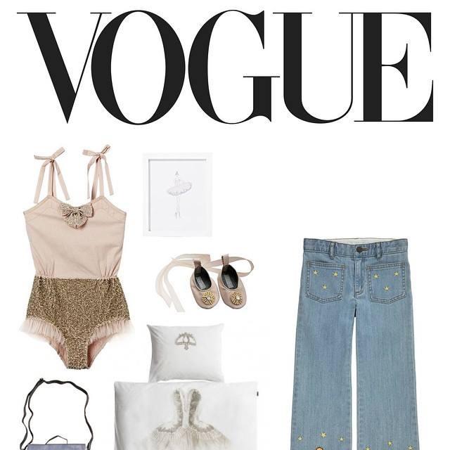 La Ballerine Print from Pemberley Rose appears on Vogue.com