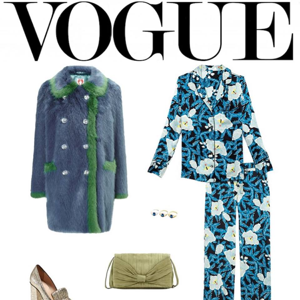 Anmare Eye Rings featured in Vogue
