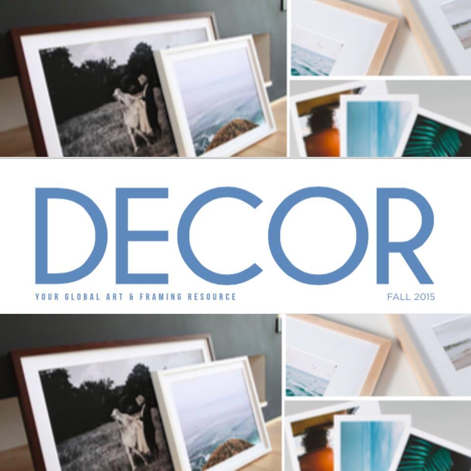 Artifact Uprising Framed Prints in Decor Magazine