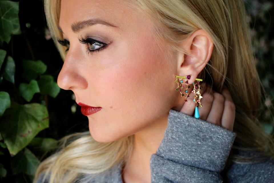 Gem Gossip Nouvel Heritage Earrings