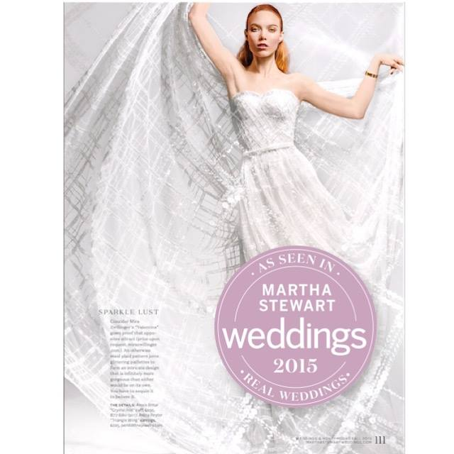 Peridot Fine Jewelry in Martha Stewart Weddings Real Weddings Issue
