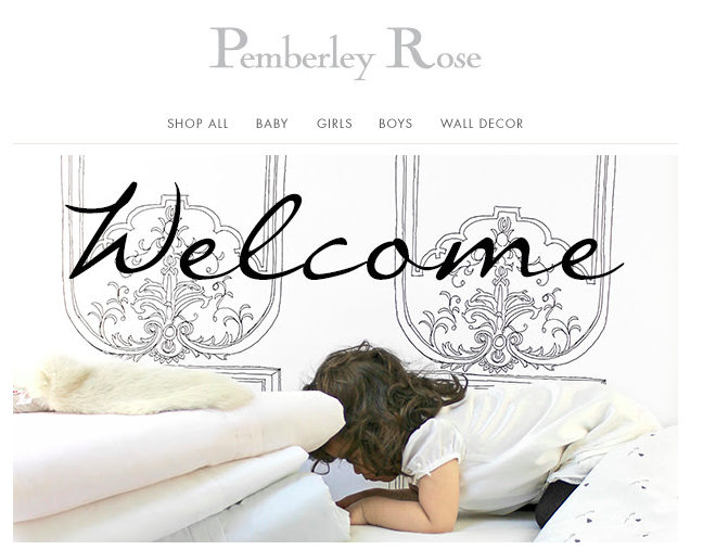 Pemberley Rose Children't Luxury Lifestyle Design and Decor