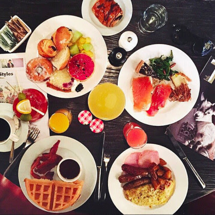 Weekend Jazz Brunch at the Roxy Hotel in Tribeca