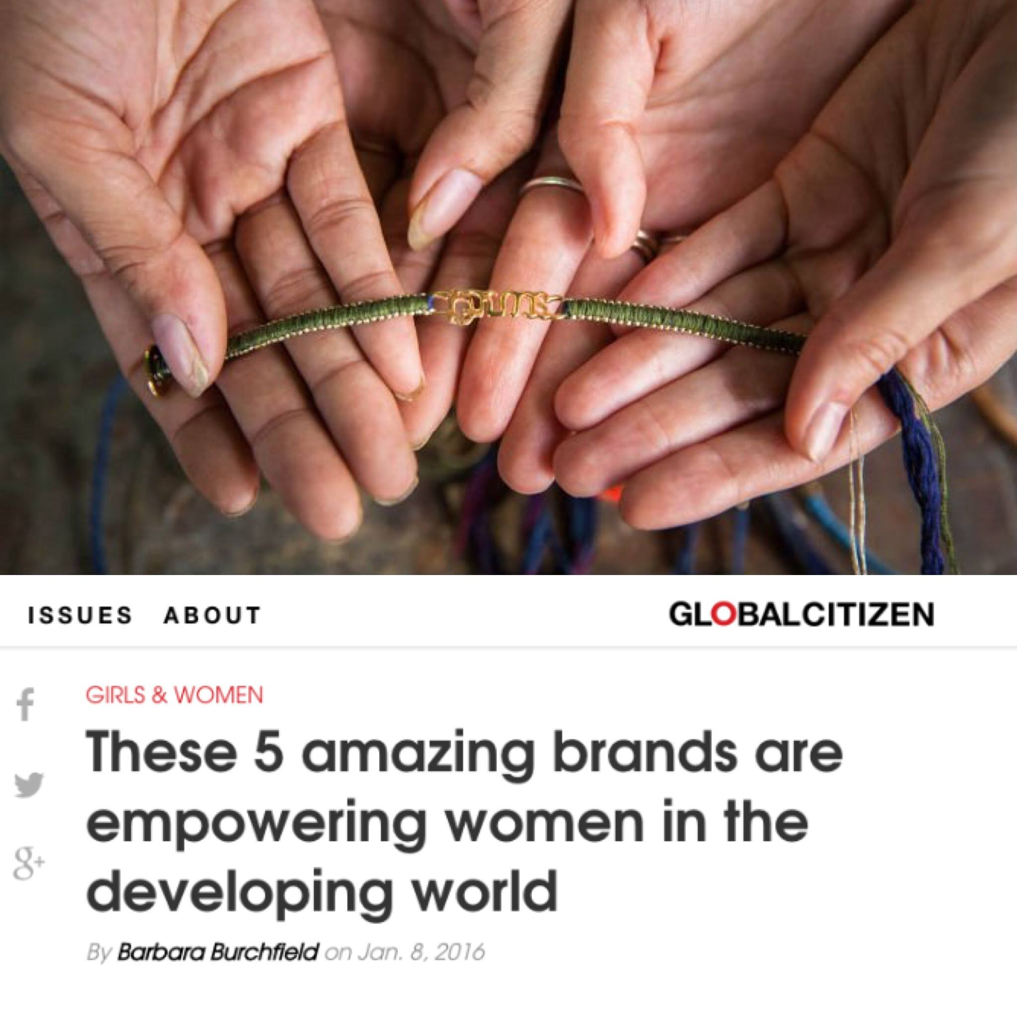 These 5 amazing brands are empowering women in the developing world
