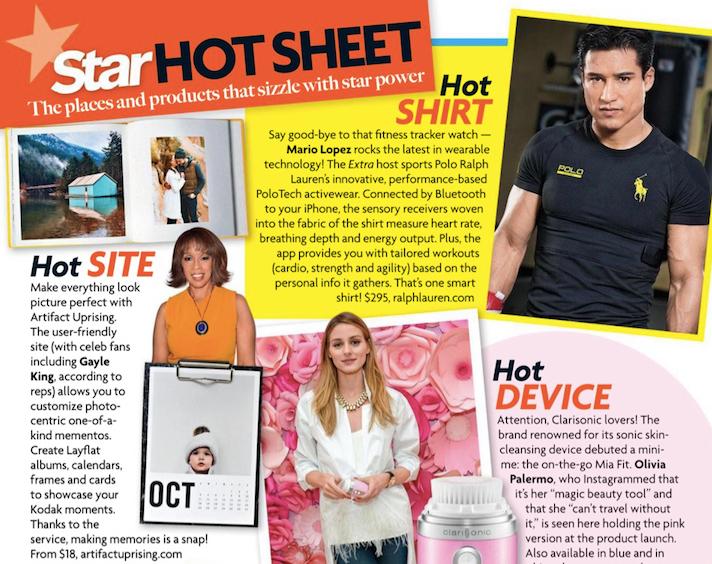 Artifact Uprising makes this week's Star Magazine