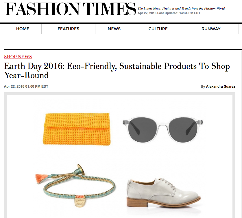 The Brave Collection featured in Fashion Times.